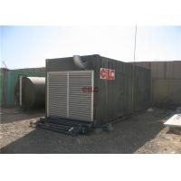 Quality Shower Sanitary Shipping Container House Construction With Electric Generator for sale