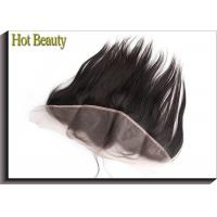 Quality Non Remy Human Hair 8 Inch Ear to Ear Top Lace Frontal Smooth Straight for sale