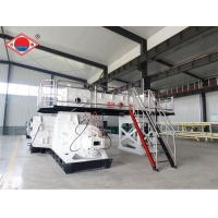 China Two Stage Vacuum Extruder 750mm Bricks Manufacturing Machine on sale