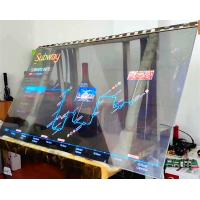 Quality Large Transparent OLED Touch Screen / Thin Transparent Video Glass Screen for sale