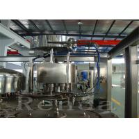 Quality High Speed Fruit Juice Filling Machine / Automated Juice Bottling Machine SUS304 for sale