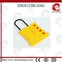 Buy 4 Holes colorful  Dust Proof  Steel  Nylon Lockout Hasp for lock at wholesale prices
