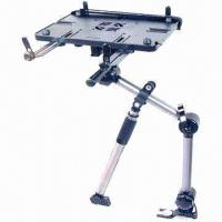 Quality Compact Practical In-car Laptop Stand with Optional Screen Stabilizer, Measures 10.6 x 7.5 Inches for sale