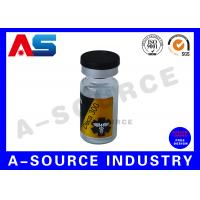 China Custom Product Labels Printing For Clear Sterile Injection Vials on sale