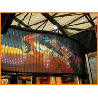 Quality Outdoor PH16mm 2R1G1B Full Color Electronic Billboards Curved Led Video Display Screen for sale