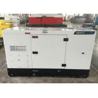 Quality Double Tanks Cummins Diesel Generator Set 32kw 40kva Environmental for sale