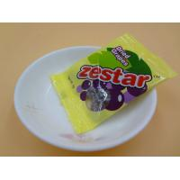 Quality Candied Fruit Tasty Dried Sour Plums / Salted Plums For Young Girls Yellow Bag for sale