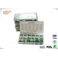 Quality HNBR NBR 70 O Ring Kit Box Green Good Abrasion Resistance And Tear Resistance for sale