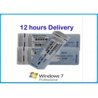 Quality Microsoft Windows 7 Product Key Codes Genuine OEM License activation online Upgrade win8.1 / win10 for sale