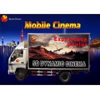 Quality Simple Dynamic Bubble Lighting Wind Mobile 5D Cinema Truck 2.25KW 220V for sale
