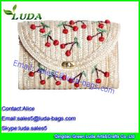 Quality hobo bags beach wheat straw bags for sale