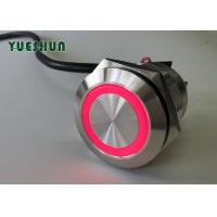 Quality Waterproof Illuminated Momentary Push Button Switch 19mm Mounting Panel Pin Terminal for sale