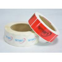 Quality Special Glue Adhesive Security Labels , Hologram Security Labels For Zip Lock Bag for sale