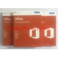 Quality Microsoft Office 2016 Professional Plus + Open License Software + COA License 1 pc + DVD  / USB Retailbox for sale
