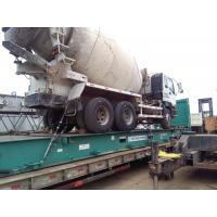 Buy cheap Used isuzu 8cbm concrete mixer year 2002 ZF pump from wholesalers