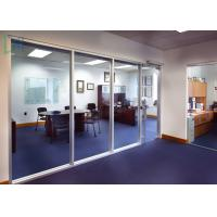 Buy 110 Series Aluminium Office Partition Easy Assembly With Clear / Frosted  Glass At Wholesale Prices ...