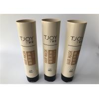 Quality TJOY Hair MASK Colored Plastic Cosmetic Tubes 260ml With Limited Value Screw Cap for sale