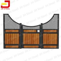 Quality Customize Design Horse Stall Fronts , Bamboo Wood European Stall Fronts for sale