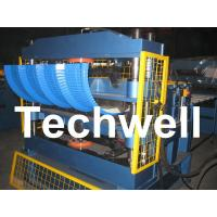 Quality PLC Computer Control Custom Roof Panel Curving Machine To Curve Finished Roof Panel for sale