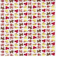 Quality 100% cotton 20*10 40*42 cotton printed flannel for sale