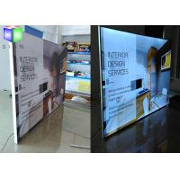 Quality Outdoor Aluminum Frameless Fabric Light Box Advertising 28 mm Thickness for sale
