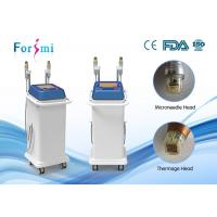 Quality 5MHz Fractional RF microneedle machine two handles for any skin treatment for sale