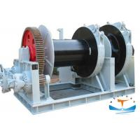 China Large Torque Boat Anchor Winch, Hydraulic Anchor Windlass For Setting Sail Safely on sale