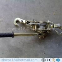 Quality ratchet cable puller hand puller wire rope puller wire rope ratchet puller wire grip for sale