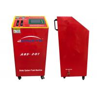 China 150W DC12V Flush Machine Red Color Four Wheels Change Oil At The Same Time on sale