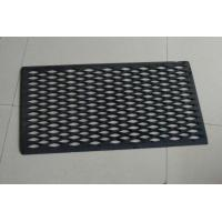 Quality Personalised Hollow Rubber Door Mat Durable House Front Door Mats for sale