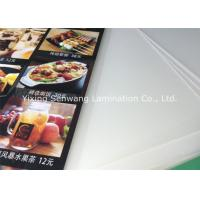 Buy Crack Resistance Pouch Laminating Film A5 , Small Menu Laminating Pouches at wholesale prices
