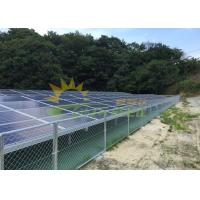 Quality OEM Anodized Anticorrosive Solar PV Mounting Structure for sale