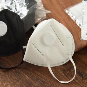 Quality Cooler FFP2V Dust Mask With Valve / Soft Nose Foam Added Comfortable for sale