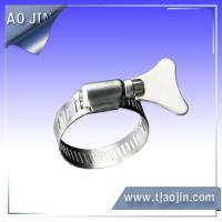 American Type Hose Cl& with Thumb Screw & Quality American type hose clamp German type hose clamp for sale ...
