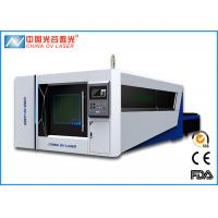 Quality 300X1500 Fiber Laser Cutting Machine Full Enclosed Type  2000w with CE FDA for sale