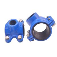 Quality Grooved Universal Pipe Coupling Clamp Grooved Fittings Ul Fm Approved Mech for sale