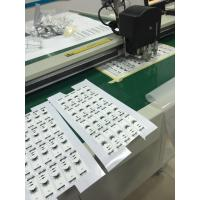 Quality White Reflecting Vinyl Sticker CNC Knife Cutting Plotter Machine for sale