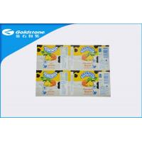 China Self Adhesive Custom Paper Label Stickers For Food Packaging , Glosy Surface on sale
