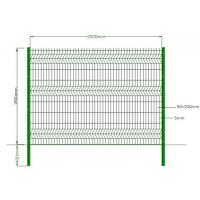 Quality Green Powder Coated Welded Wire Mesh , Galvanized Welded Wire Fabric Eco Friendly for sale