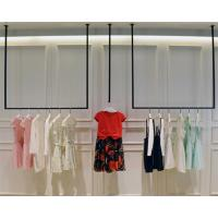 China Simple Design Hanging Clothes Display Rack / Retail Clothing Racks 3 Meters Height on sale