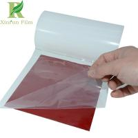 Quality 0.03-0.20mm Transparent Adhesive Protection Film for Prepainted Metals for sale