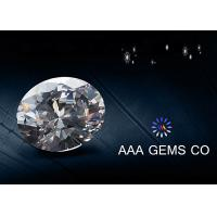 China Forever Brilliant Synthetic Oval Moissanite Gemstone Silicon Carbide on sale