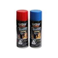 Quality Fast Dry Wall Graffiti Spray Paint , Red / Blue / Yellow Matte Spray Paint Good Atomization for sale