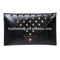 Quality Crocodile leather lady bag of wholesale clutches(AX-051) for sale