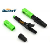 Buy SC APC Single Mode 0.9mm Fiber Optic Cable Connector Low Insertion Loss at wholesale prices