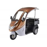 Quality Digital LED Display 1200W Brushless 3 Wheel Electric Tricycle for sale