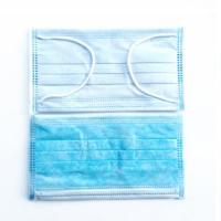 Quality Breathable Non Woven Face Mask , Latex Free Disposable Mouth Mask for sale