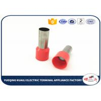 Quality E70-25 crimp cord ends Tube type Insulated cable end ferrules for sale