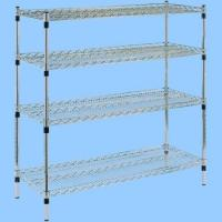 Quality Space Saving Logistic Cart, 4 Layers Milk Roll Container For Cartons and Poly Bottles for sale