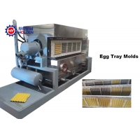 China Paper Pulp Molding 4x5 Egg Tray Manufacturing Machine on sale